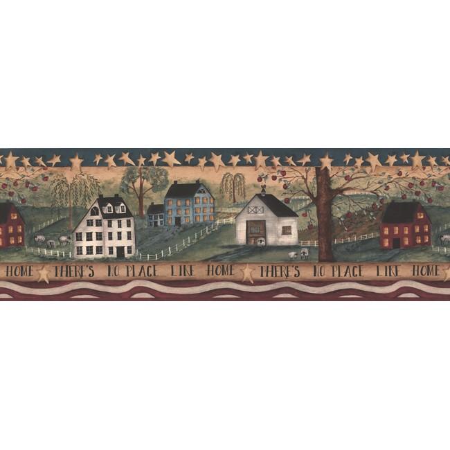 Американские обои York,  коллекция Hearts and Crafts III, артикулHF8506BCB