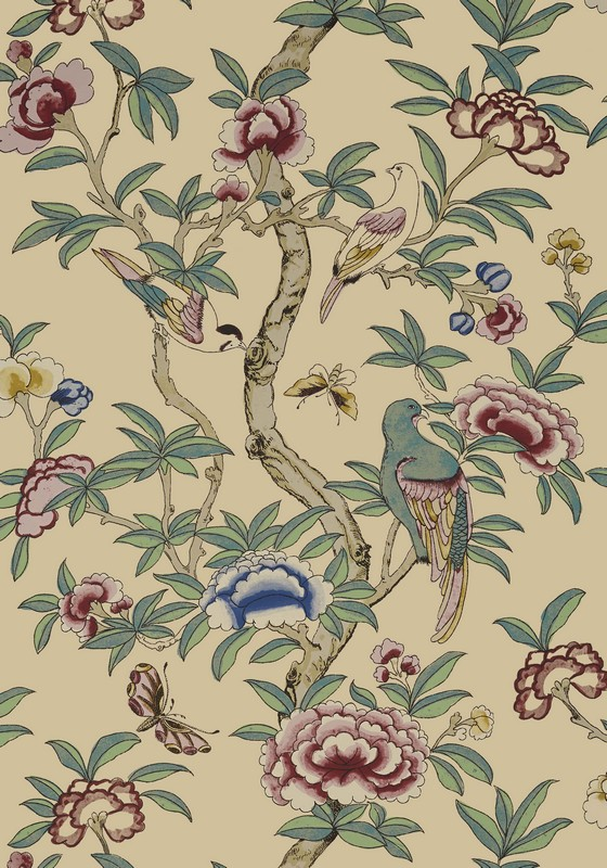 Американские обои Thibaut,  коллекция Imperial Garden, артикулT14229