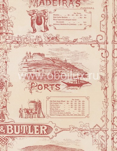 Английские обои Lewis & Wood,  коллекция Sporting & Character, артикулLW5165