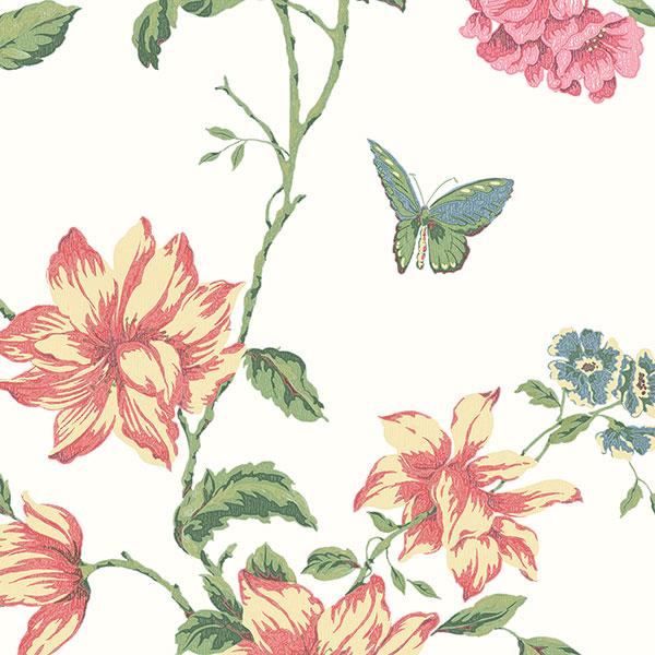 Канадские обои Aura,  коллекция English Florals, артикулG34300