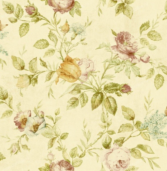 Американские обои Seabrook,  коллекция Garden Diary, артикулCY11309