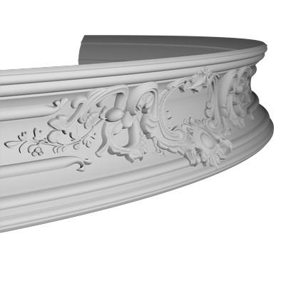 Карниз гибкий из полиуретана 1.50.252F