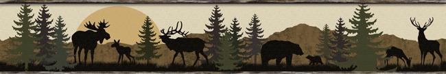 Американские обои York,  коллекция Lake Forest Lodge, артикулLM7946BD