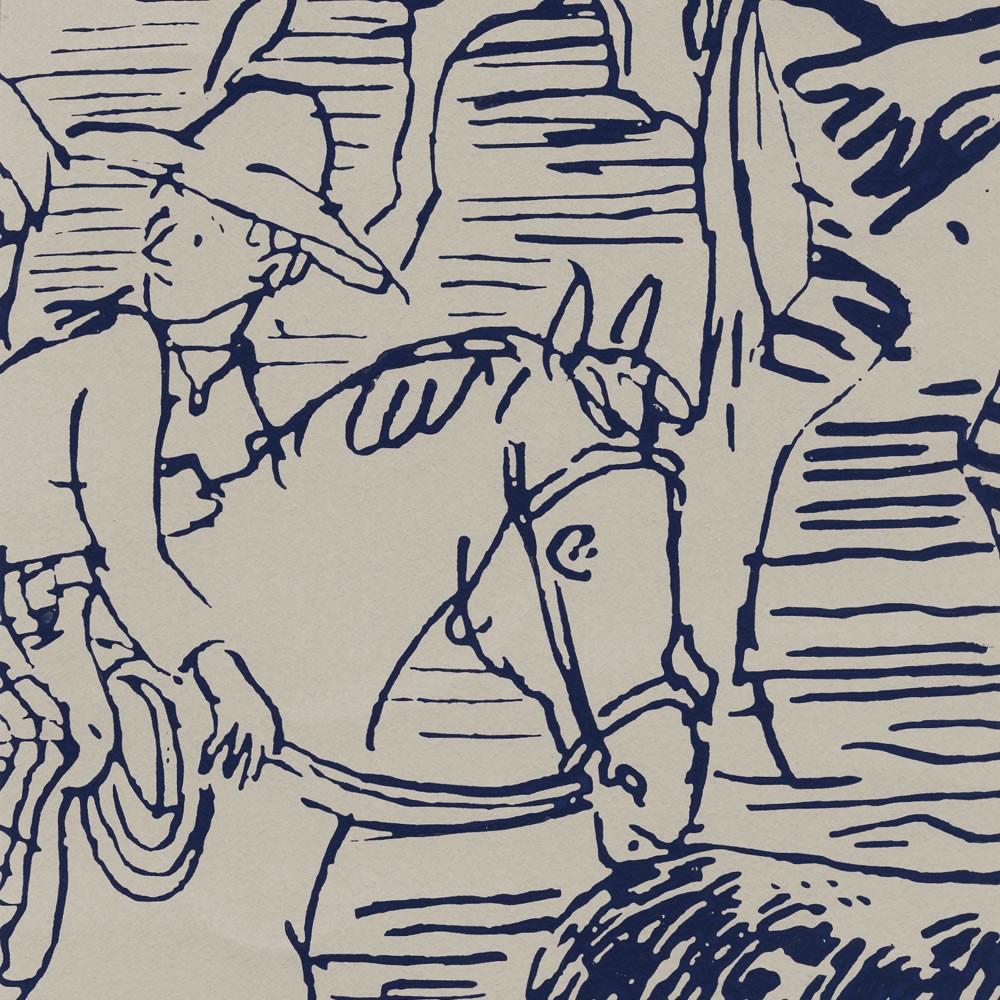 Французские обои Hermes,  коллекция La maison Les papiers peints, артикул214006-M03
