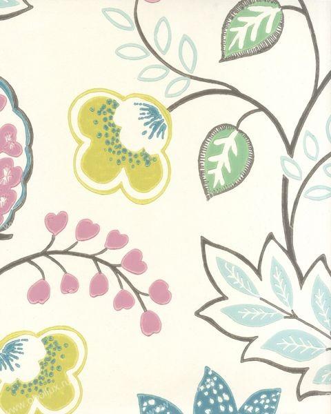 Английские обои Osborne & Little,  коллекция Wallpaper Album V, артикулW5600-01