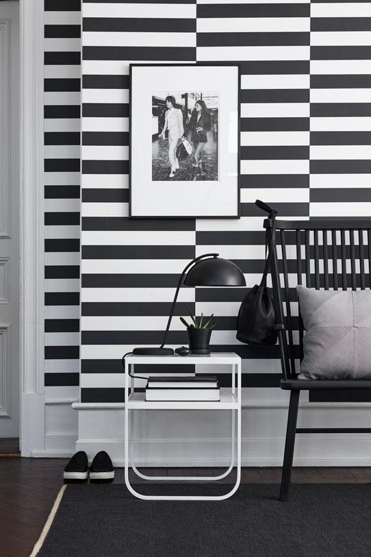 Шведские обои Eco,  коллекция Black and White, артикул6078