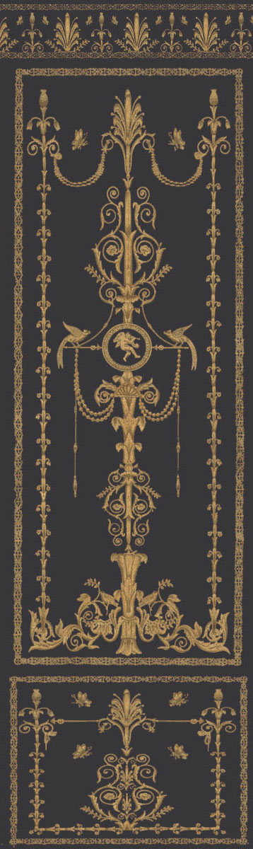 Английские обои Iksel,  коллекция Scenic & Architectural Wallpapers, артикулEmpireArabesqueEA4