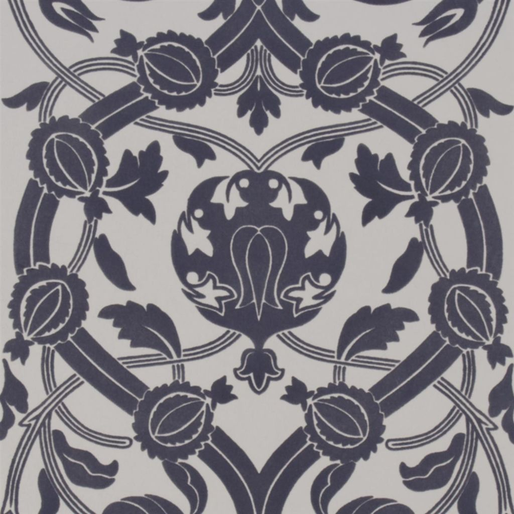 Английские обои Designers guild,  коллекция The Royal Collection - Rosa Chinensis, артикулPQ007/02