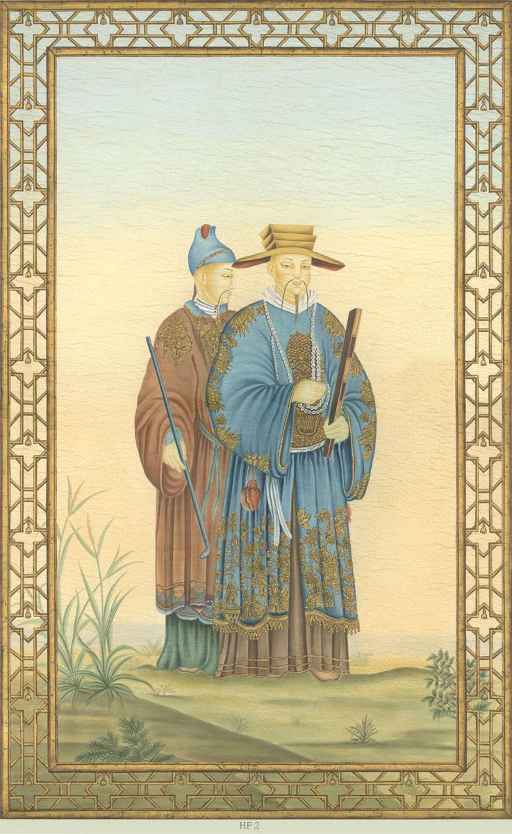 Английские обои Iksel,  коллекция Scenic & Architectural Wallpapers, артикулChineseFantasyHF2