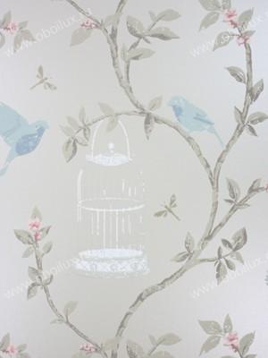 Английские обои Nina Campbell,  коллекция Birdcage Walk, артикулNCW3770/01