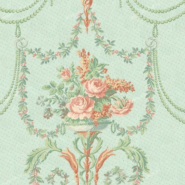 Американские обои Wallquest,  коллекция French Tapestry, артикулTS70402