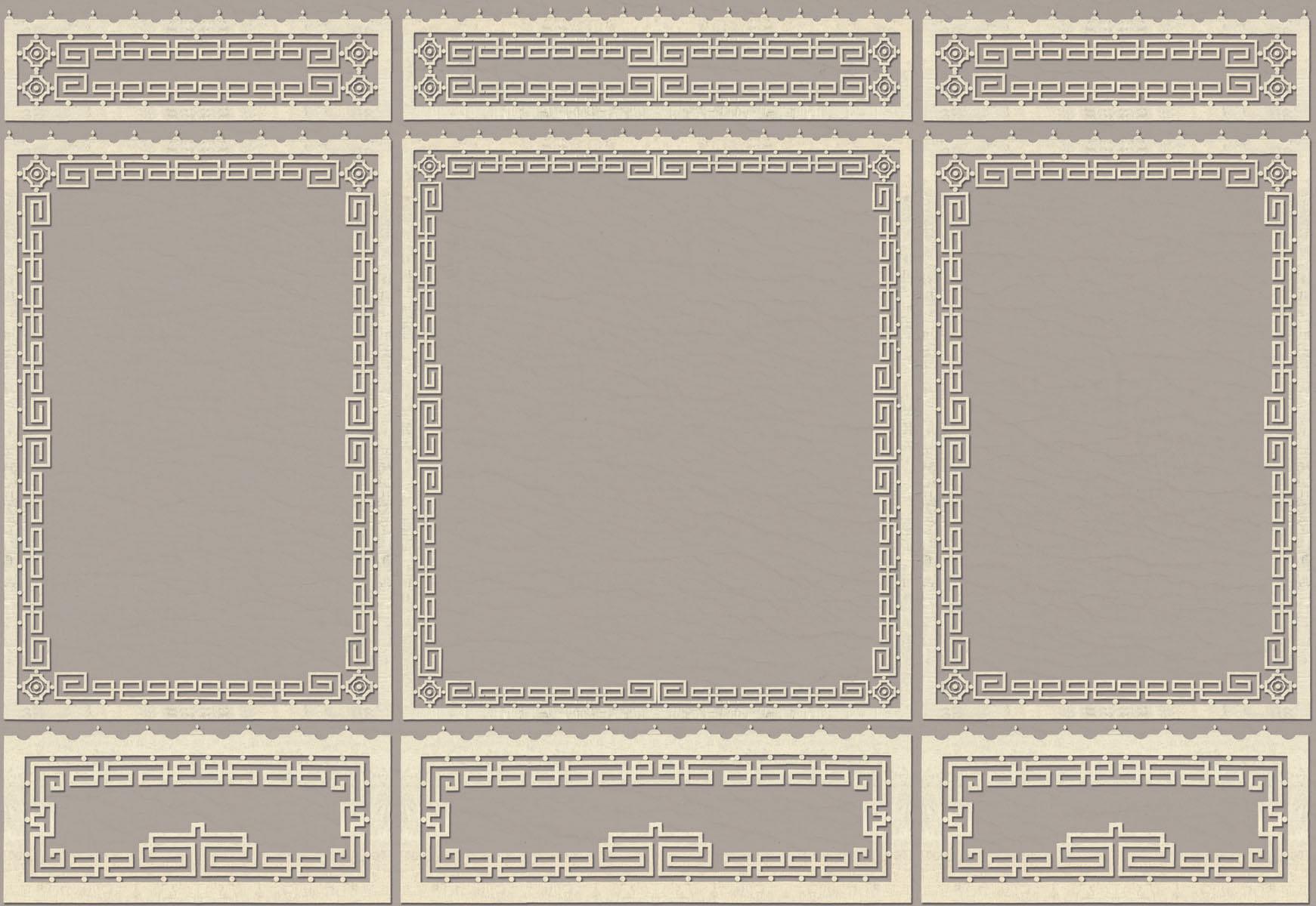 Английские обои Iksel,  коллекция Scenic & Architectural Wallpapers, артикулChinoisKeyBoiserie