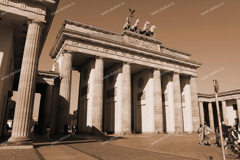 Немецкие обои A. S. Creation,  коллекция XXL II, артикул289BrandenburgerTor