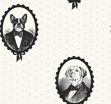 Американские обои Paper & Ink,  коллекция Black And White, артикулBW21810