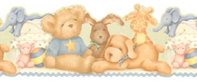 Канадские обои Aura,  коллекция Honey Bunny, артикулLK1439BYK