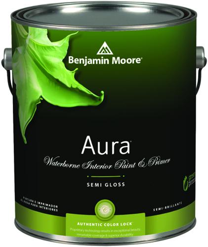Aura 528 Waterborne Interior Paint - Semi-Gloss Finish