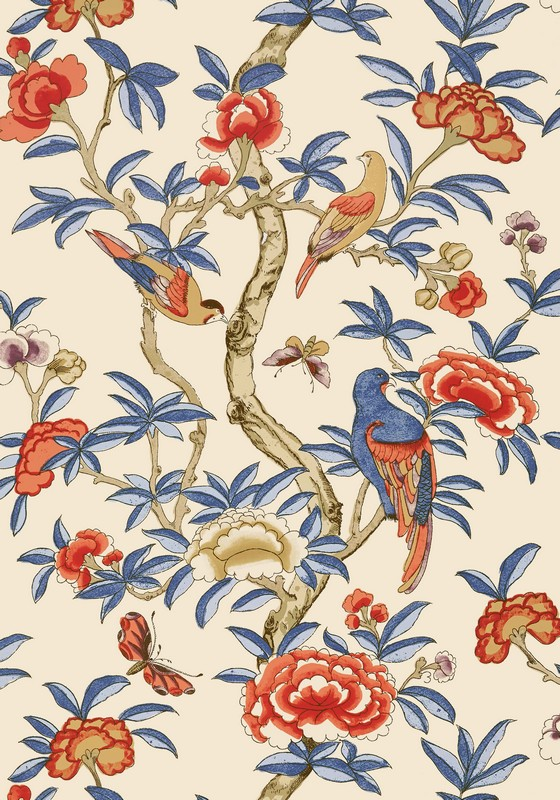 Американские обои Thibaut,  коллекция Imperial Garden, артикулT14228