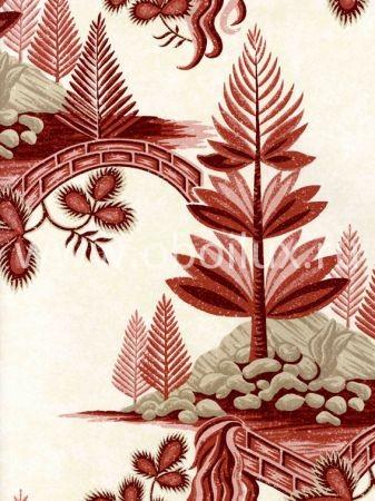 Английские обои Zoffany,  коллекция Fleurs Rococo, артикулFLW02004