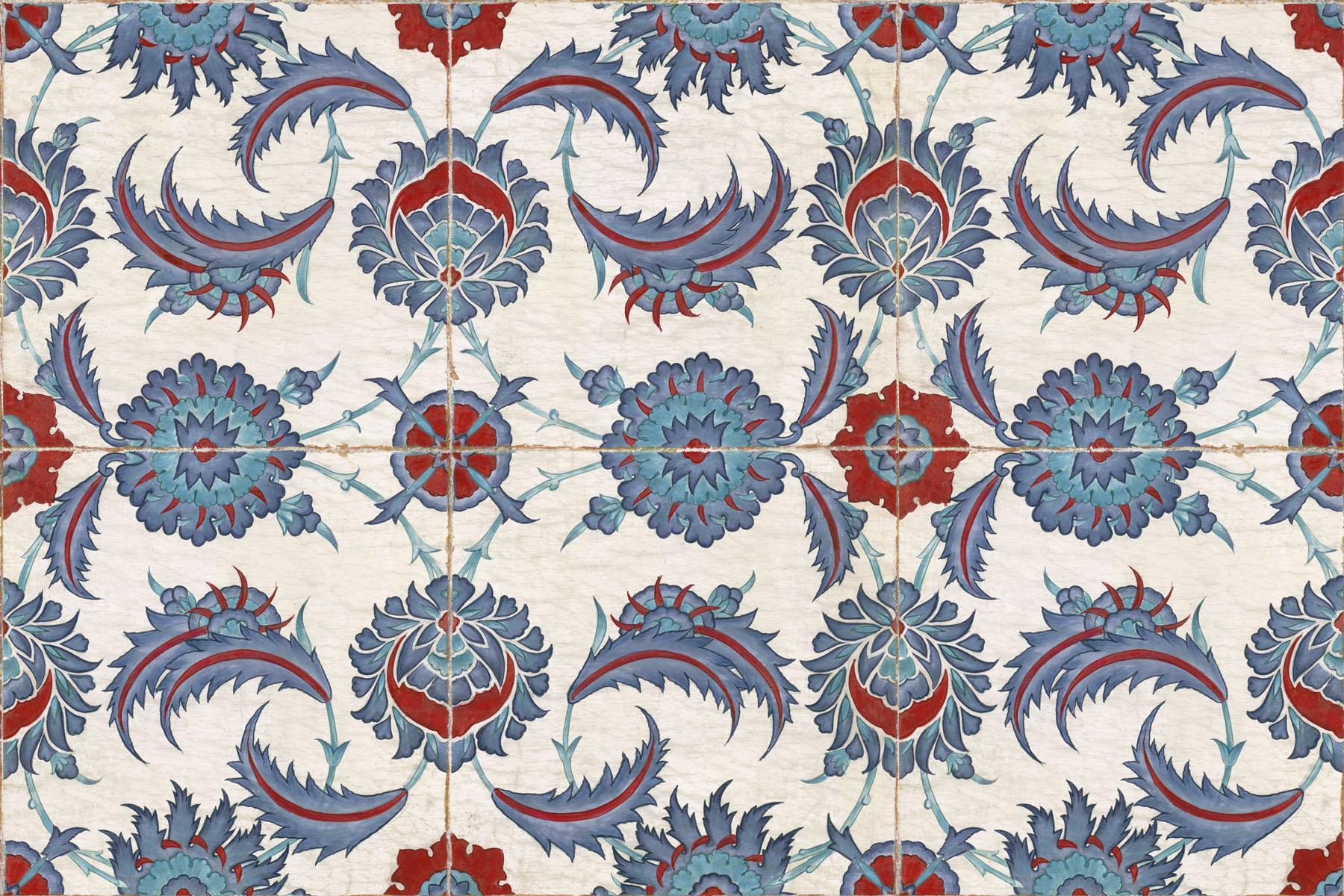 Английские обои Iksel,  коллекция Scenic & Architectural Wallpapers, артикулIznikCollectionIZNIKRUSTEM