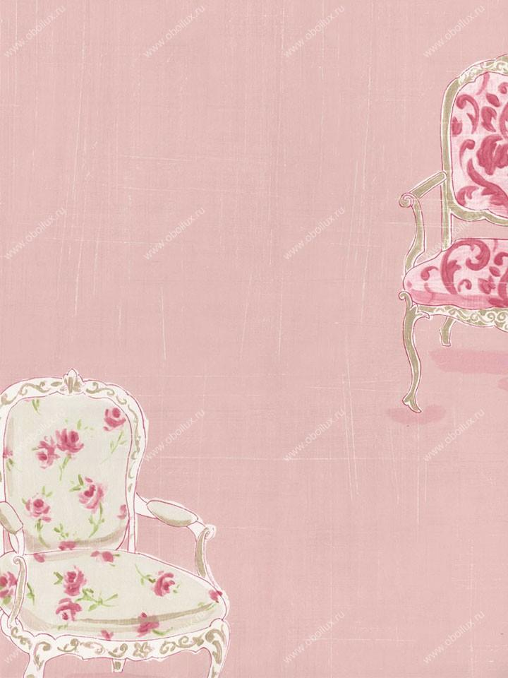 Американские обои Wallquest,  коллекция Fresh Floral, артикулFF92401