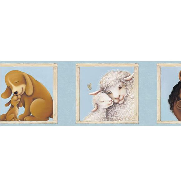 Американские обои 4Walls,  коллекция Kids Portfolio I, артикулKP1288B