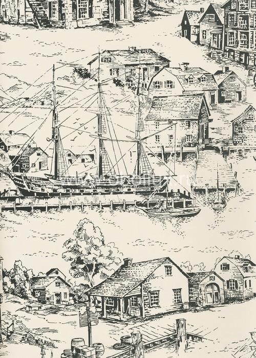 Американские обои York,  коллекция Ashford House - Toiles, артикулAT4134