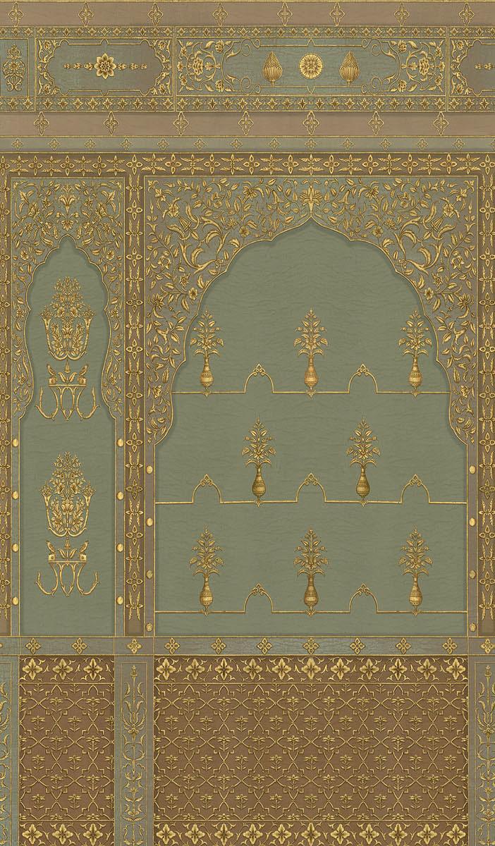 Английские обои Iksel,  коллекция Scenic & Architectural Wallpapers, артикулBikanerBIK2