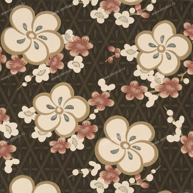 Английские обои Little Greene,  коллекция Oriental Wallpapers, артикул0275BLORANG