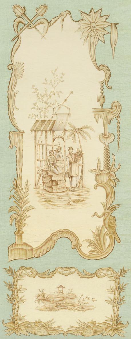 Английские обои Iksel,  коллекция Scenic & Architectural Wallpapers, артикулChinoiserieCHINOIS11