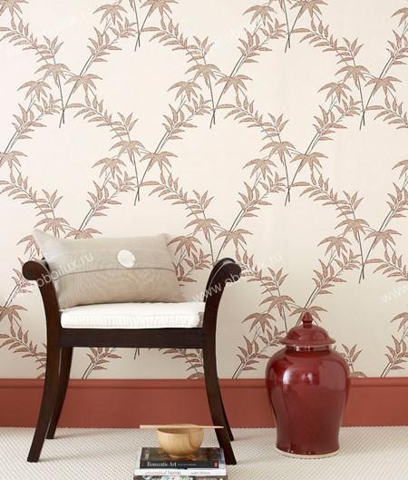 Английские обои Little Greene,  коллекция Oriental Wallpapers, артикул0275TRSPICE
