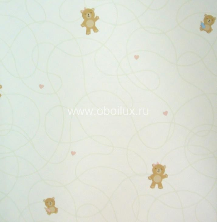 Американские обои Wallquest,  коллекция Little Squirt, артикулPK61902