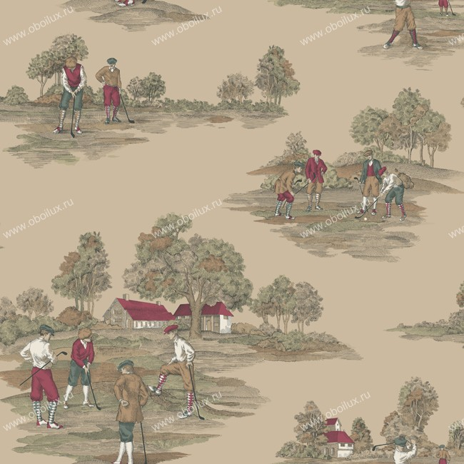 Американские обои York,  коллекция Ronald Redding - Houndstooth, артикулML1203