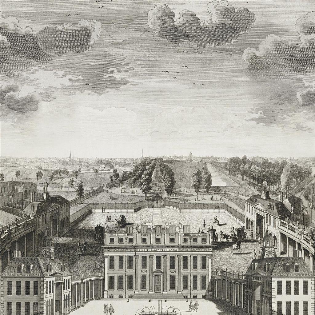 Английские обои Designers guild,  коллекция The Royal Collection - Buckingham Wallpapers, артикулPRC671/01