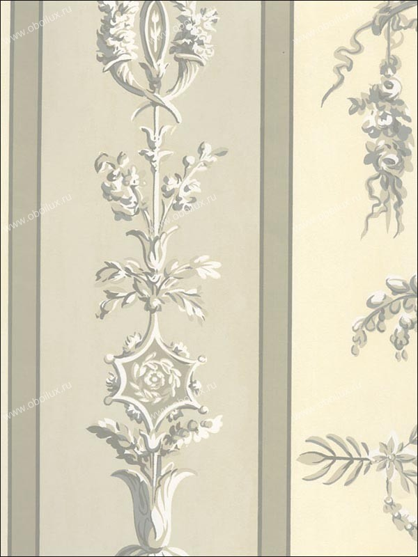 Американские обои Stroheim,  коллекция Color Gallery Neutrals vol. IV, артикул4015E0021