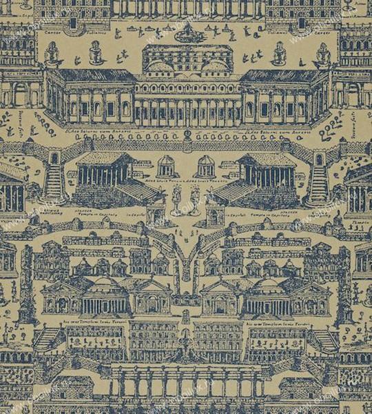 Английские обои Zoffany,  коллекция Intaglio, артикул310073