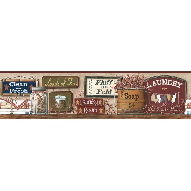 Американские обои York,  коллекция Hearts and Crafts III, артикулCB5511BD
