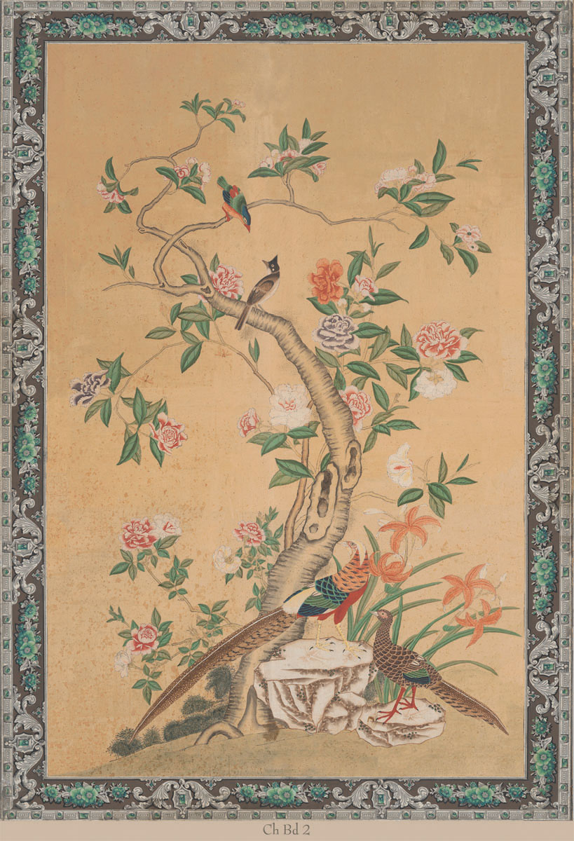Английские обои Iksel,  коллекция Scenic & Architectural Wallpapers, артикулChineseNapoleonIIICHBD2