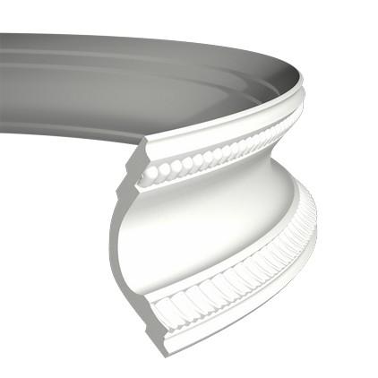 Карниз гибкий из полиуретана 1.50.164F
