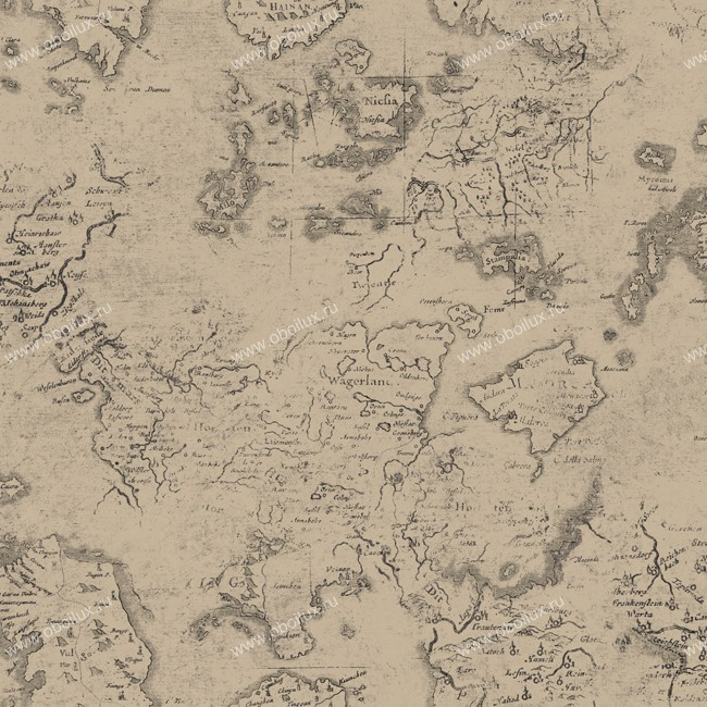 Американские обои York,  коллекция Ronald Redding - Houndstooth, артикулML1332