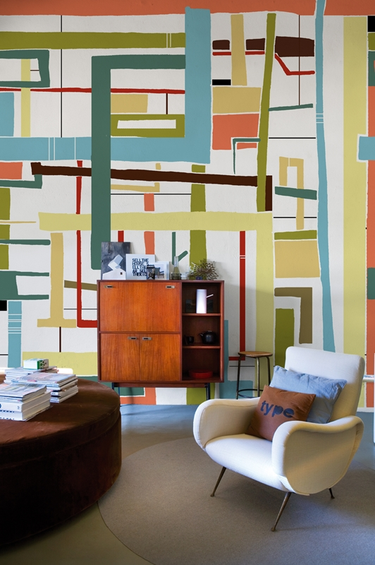 Итальянские обои Wall & deco,  коллекция Big Brand 13, артикулBBLB1301