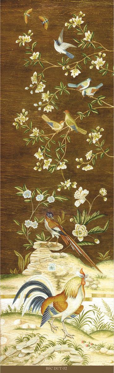 Английские обои Iksel,  коллекция Scenic & Architectural Wallpapers, артикулDutchTreeOfLefeBSCDUT02