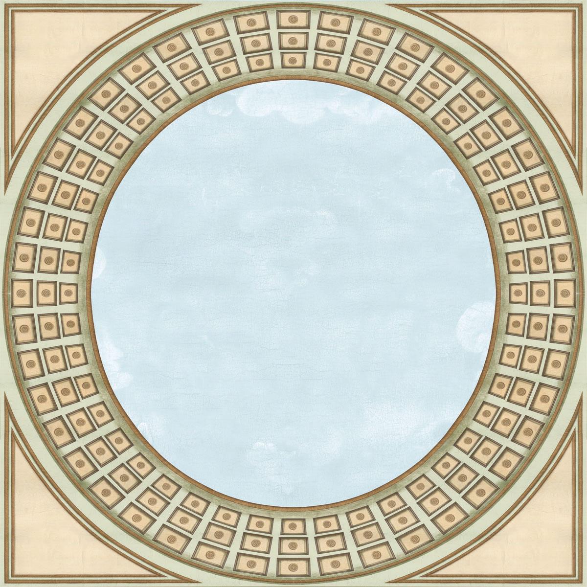 Английские обои Iksel,  коллекция Scenic & Architectural Wallpapers, артикулPantheonCeiling
