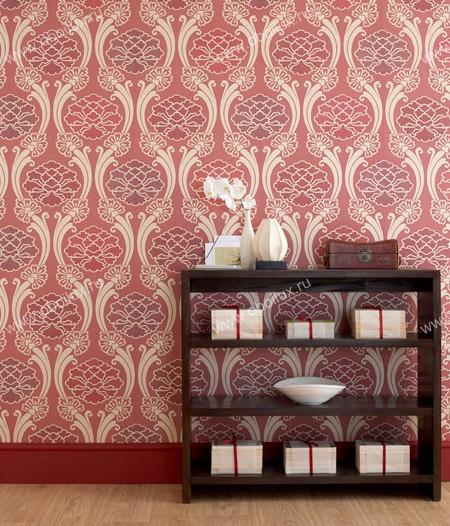 Английские обои Little Greene,  коллекция Oriental Wallpapers, артикул0275PECHERR