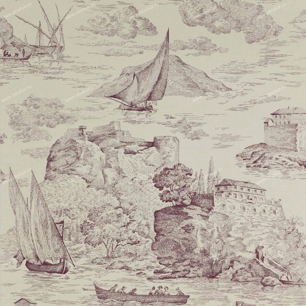 Французские обои Manuel Canovas,  коллекция Papiers Peints Trianon, артикул03069-03