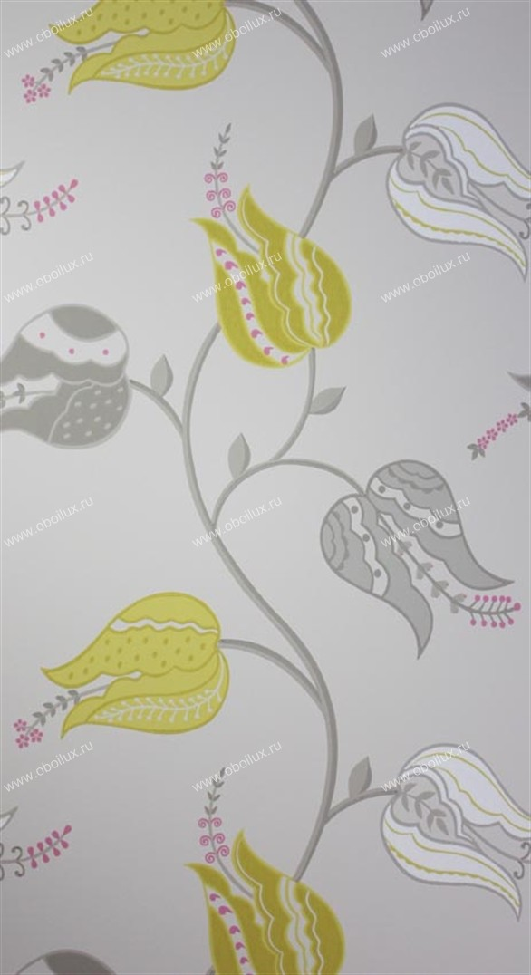 Английские обои Osborne & Little,  коллекция Persian Garden, артикулW6490/01
