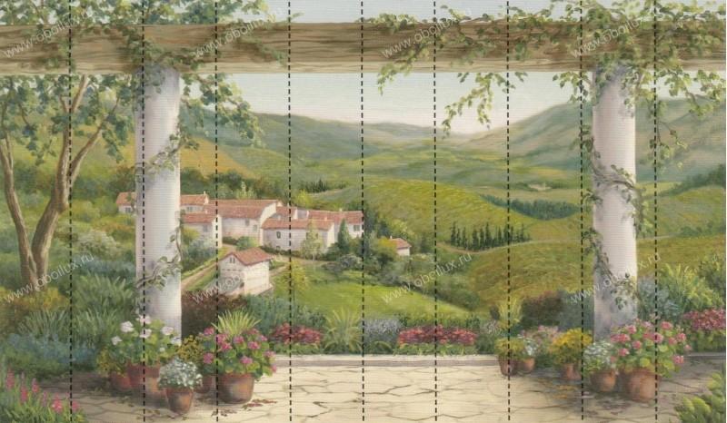Канадские обои Aura,  коллекция Panorama, артикулRA0189MMP