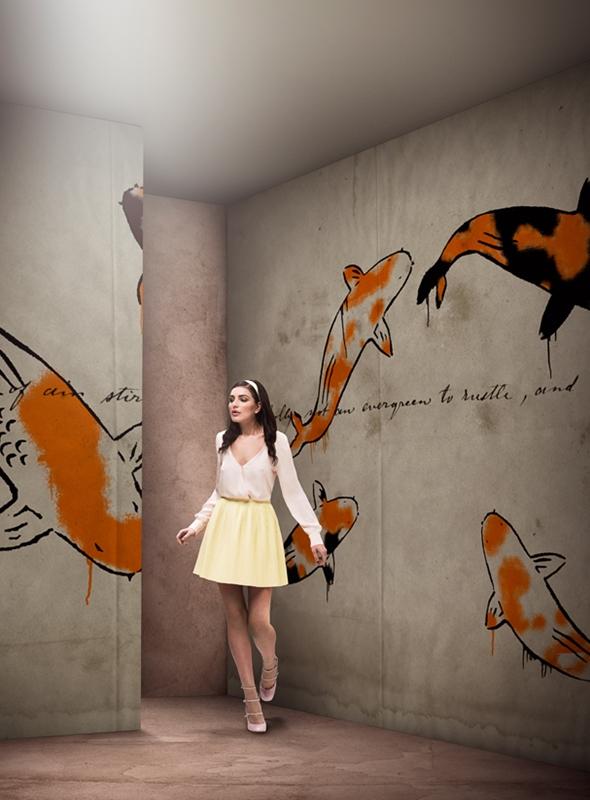 Итальянские обои Wall & deco,  коллекция Gio Pagani 14, артикулGPW1436