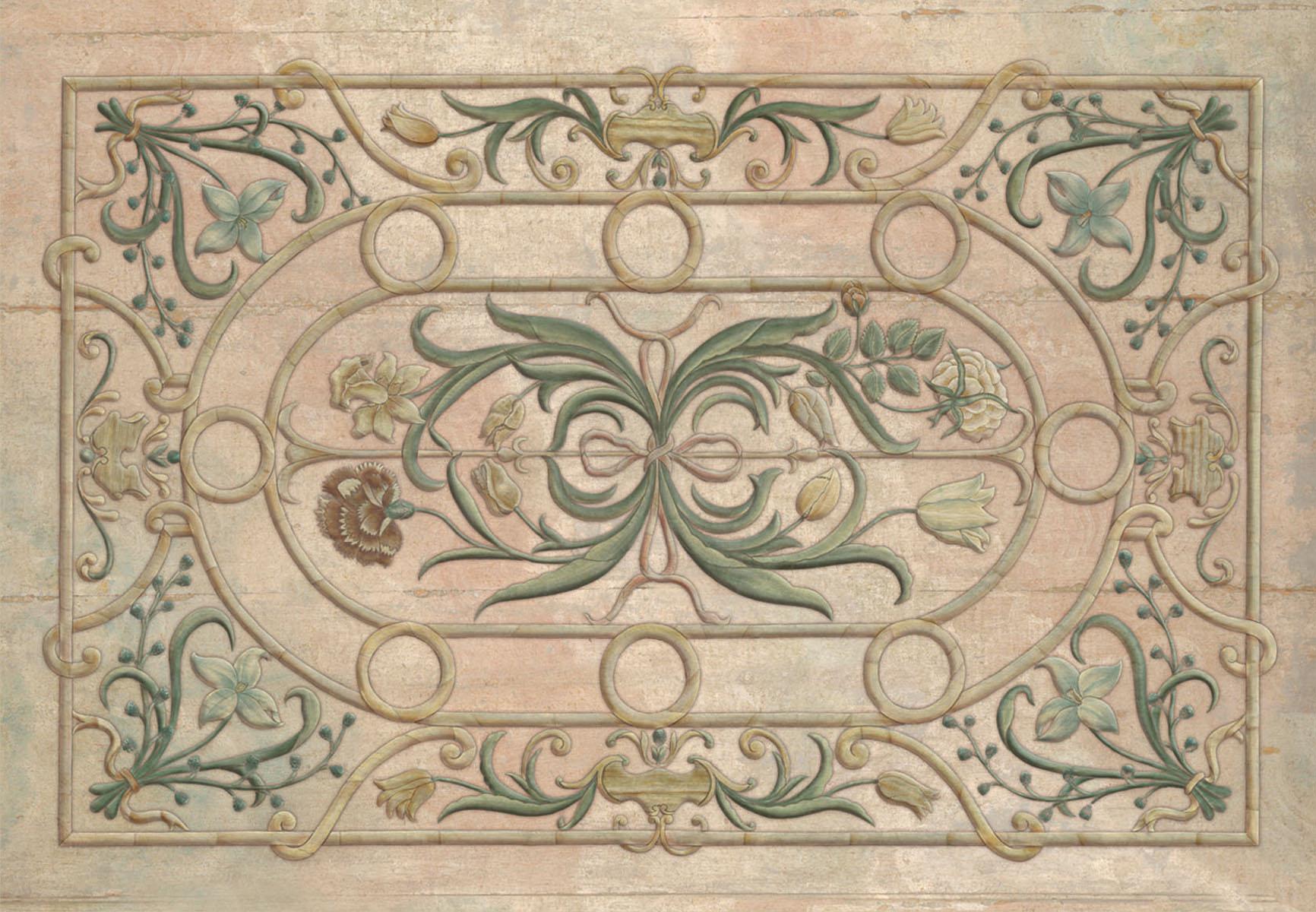 Английские обои Iksel,  коллекция Scenic & Architectural Wallpapers, артикулTabletopsPIETRADURA