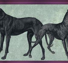 ОБОИ TENUE DE VILLE ODE арт. Canis Raspberry/ODE-191911
