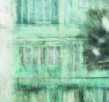 ПАННО TENUE DE VILLE ODE арт. Havana Teal/ODE-190313